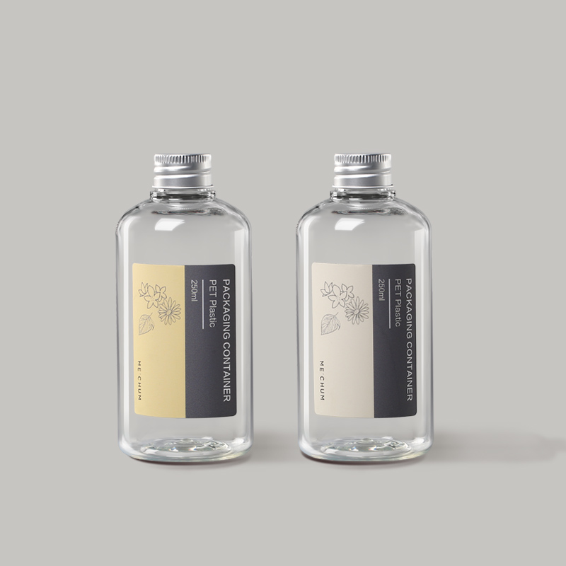 天然植物护肤系列塑料包装瓶案例