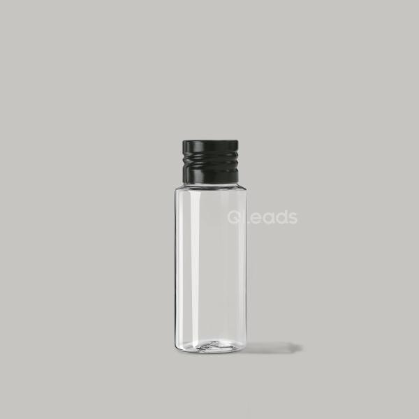小口50ml透明塑料瓶